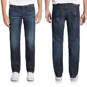 Men's AG matchbox slim straight-leg jeans